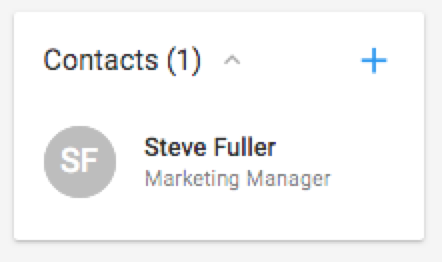 Contacts Associated Company